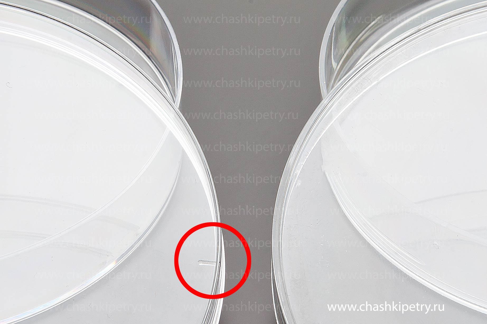 Невентилируемые чашки Петри